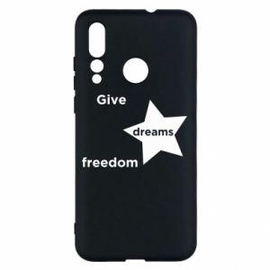 Etui na Huawei Nova 4 Give dreams freedom