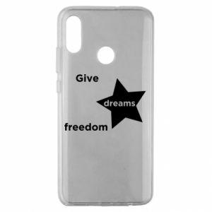 Etui na Huawei Honor 10 Lite Give dreams freedom