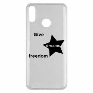 Etui na Huawei Y9 2019 Give dreams freedom