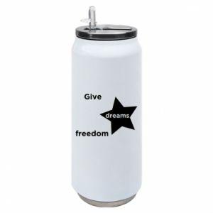 Puszka termiczna Give dreams freedom