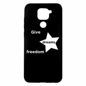 Etui na Xiaomi Redmi Note 9/Redmi 10X Give dreams freedom