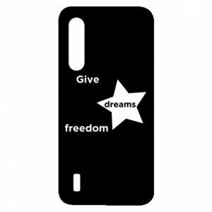 Etui na Xiaomi Mi9 Lite Give dreams freedom