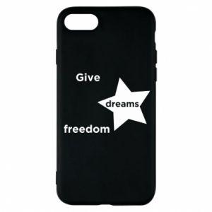 Etui na iPhone 8 Give dreams freedom