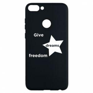 Etui na Huawei P Smart Give dreams freedom