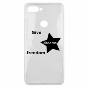Etui na Xiaomi Mi8 Lite Give dreams freedom