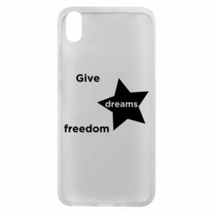 Etui na Xiaomi Redmi 7A Give dreams freedom