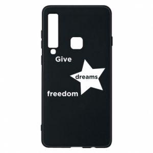 Etui na Samsung A9 2018 Give dreams freedom
