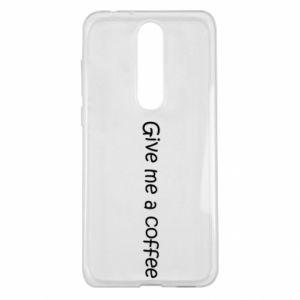 Etui na Nokia 5.1 Plus Give me a coffee
