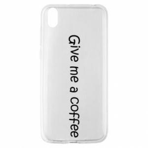 Etui na Huawei Y5 2019 Give me a coffee