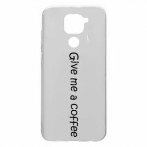 Etui na Xiaomi Redmi Note 9/Redmi 10X Give me a coffee