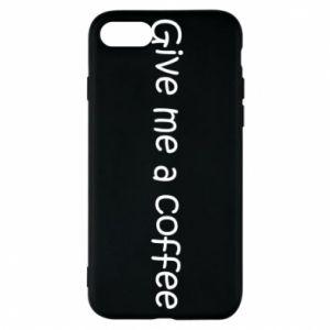 Etui na iPhone 8 Give me a coffee