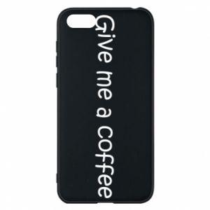 Etui na Huawei Y5 2018 Give me a coffee