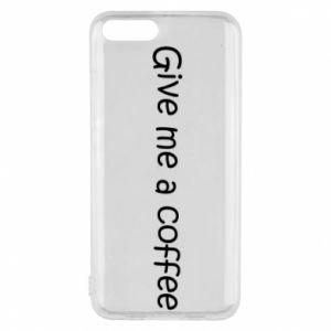 Etui na Xiaomi Mi6 Give me a coffee