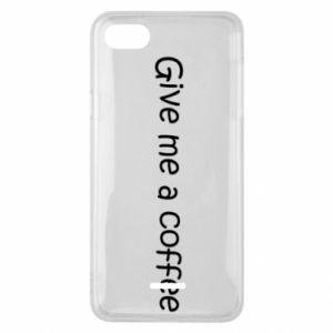 Etui na Xiaomi Redmi 6A Give me a coffee