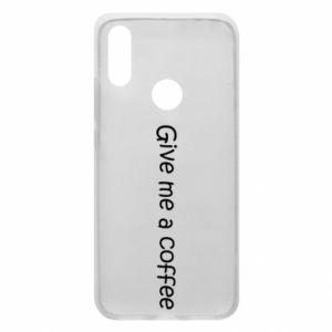 Etui na Xiaomi Redmi 7 Give me a coffee