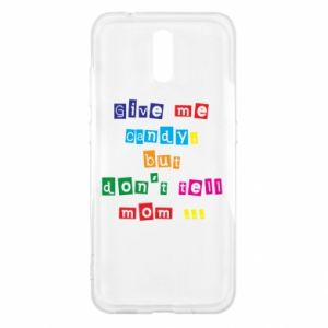 Etui na Nokia 2.3 Give me candy, but don't tell mom ...