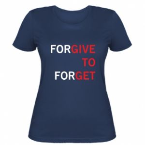 Women's t-shirt Give To Get