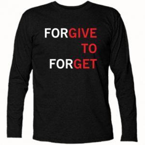Koszulka z długim rękawem Give To Get - PrintSalon