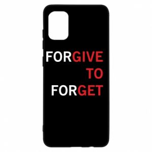 Samsung A31 Case Give To Get