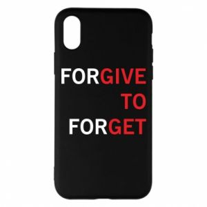 Etui na iPhone X/Xs Give To Get