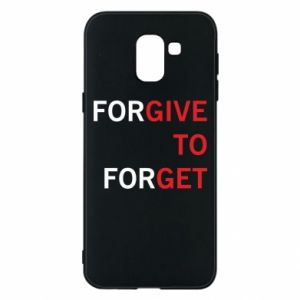Phone case for Samsung J6 Give To Get
