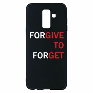 Phone case for Samsung A6+ 2018 Give To Get