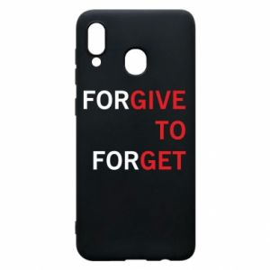 Phone case for Samsung A20 Give To Get