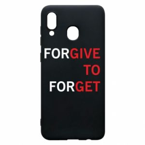 Phone case for Samsung A30 Give To Get