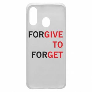 Phone case for Samsung A40 Give To Get
