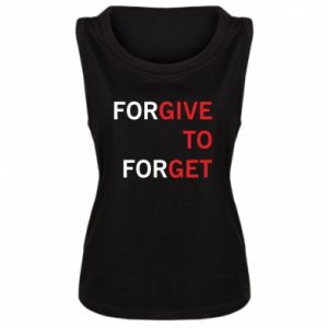 Damska koszulka Give To Get - PrintSalon