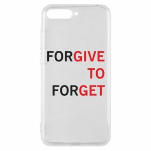 Phone case for Huawei Y6 2018 Give To Get
