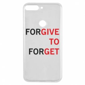 Phone case for Huawei Y7 Prime 2018 Give To Get