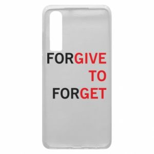 Phone case for Huawei P30 Give To Get