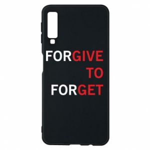 Phone case for Samsung A7 2018 Give To Get