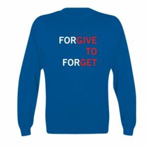 Kid's sweatshirt Give To Get