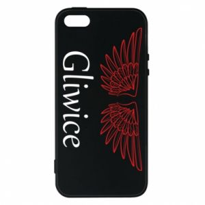 Etui na iPhone 5/5S/SE Gliwice skrzydła