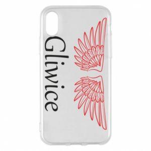 Etui na iPhone X/Xs Gliwice skrzydła