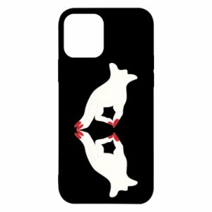 Etui na iPhone 12/12 Pro Gloved hands