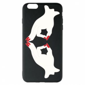 Etui na iPhone 6 Plus/6S Plus Gloved hands