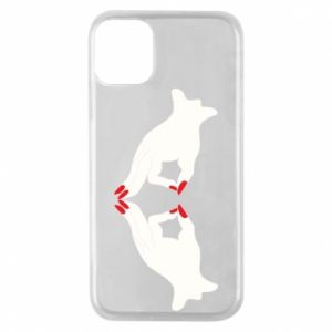 Etui na iPhone 11 Pro Gloved hands