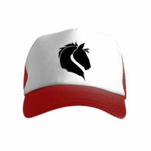 Kid's Trucker Hat Horse head