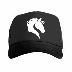 Czapka trucker Głowa konia - Printsalon