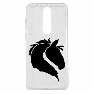 Nokia 5.1 Plus Case Horse head