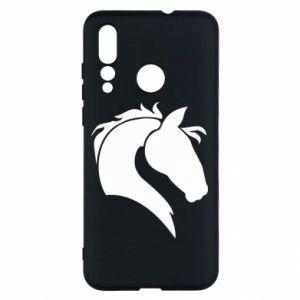 Etui na Huawei Nova 4 Głowa konia