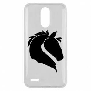 Etui na Lg K10 2017 Głowa konia