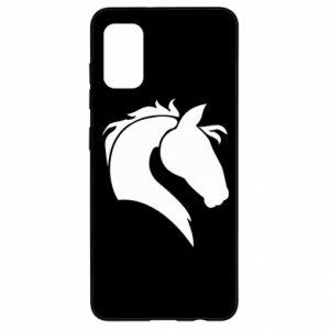 Etui na Samsung A41 Głowa konia