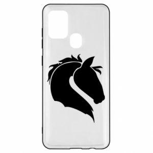 Etui na Samsung A21s Głowa konia