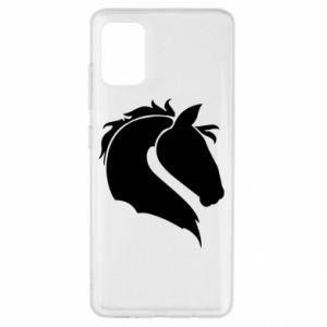 Etui na Samsung A51 Głowa konia