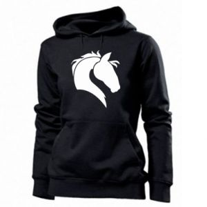 Women's hoodies Horse head