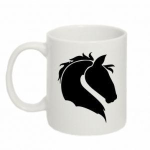 Kubek 330ml Głowa konia - PrintSalon